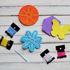 Craft Foam Sewing Cards