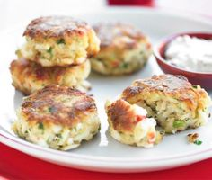 Crab Cakes: These sound amazing. I'm going to start experimenting with different ingredients in order to make a healthy rendition of your classic crab cake. If anyone knows of a good recipe, please feel free to share! -Layne