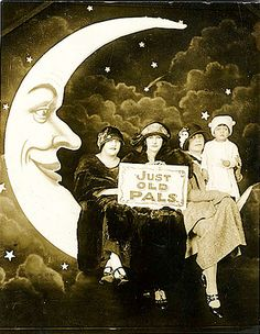 Evocative vintage Paper Moon photography