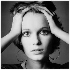 Mia Farrow by Jeanloup Sieff, 1968