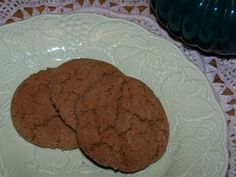 Ginger Snaps ... yes please!