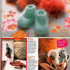 """Intended as mini ornaments, these itty bitty knit stockings first appeared in 2005, """"serving as advance notice of their life-size counterpart presents."""" #GoodHousekeeping #GiftIdeas"""