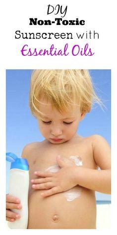 essential oils for sunscreen, diy nontox, summer essentials diy, essenti oil, nontox sunscreen