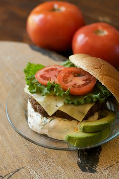 Taco Burger the Clean Eating way! Healthy and made with whole food ingredients.