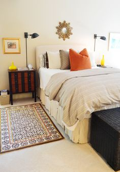 House Crashing: Cozy & Full Of Character | Young House Love young hous, sconc, old houses, master bedrooms