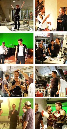 Behind the scenes of Iron Man 3