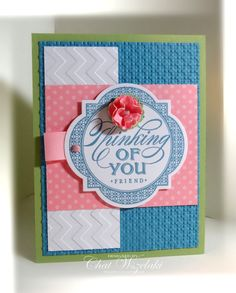 Stampin' UP Thinking of YOU