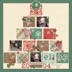 christmas scrapbook layouts ideas   Adam's 1st Christmas Parade 2006. He was more interested in the ...