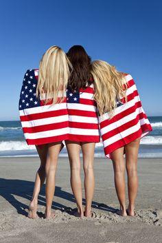 'Merica beach towels