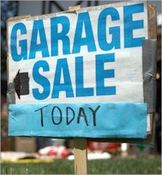 Advice for yard sale