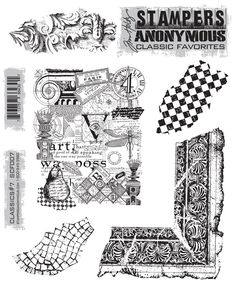 Tim Holtz Stampers Anonymous Classics 7 SCF-7