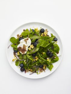 Arugula, Blueberry and Corn Salad #veggies #myplate #salad