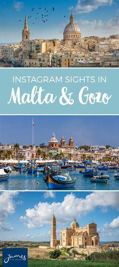 Malta and Gozo are a treat for all your senses. These islands glitter away in the Mediterranean Sea, just south of Sicily. They're teeming with colourful towns, striking sandy beaches and iconic historical sights. Capture these island gems on camera, as you admire the stunning scenery.   #malta #gozo