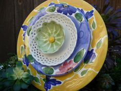 DJ's Drought Resistant Plate Flowers