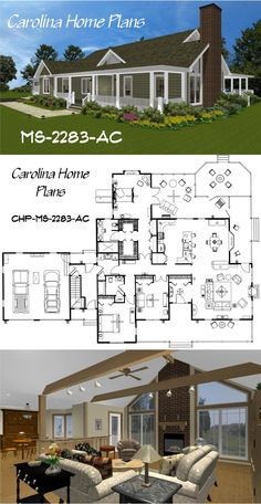 House Plans with Open Floor Plan Layouts