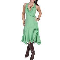 Scully Women's Ruffled Halter Dress