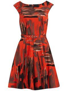 print dress - Dorothy Perkins