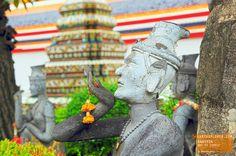 Wat Po Temple Statue - Bangkok Thailand