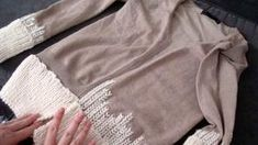upcycl cardigan, sweater, craft, upcycl cloth, refashion