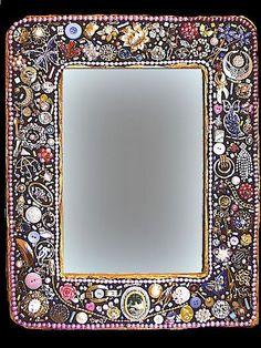 Shades of Pink Magazine Jewelry Mirror