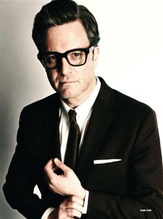 Colin Firth in Tom Ford.