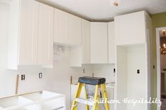 how to install Ikea kitchen cabinets. Just beautiful! By @Southern Hospitality Rhoda