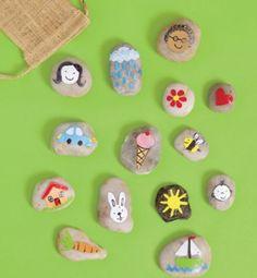 Crafts: Story Stones   Scholastic.com