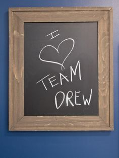 So true =) #TeamDrew
