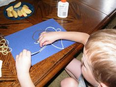 The Stay-at-Home-Mom Survival Guide: 100 Days of Play: YARN PICTURES