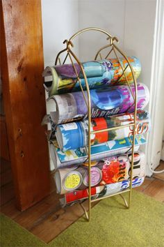 so i totally saw a rack like this at the salvation army the other day and did not realize what else it could be used for, till now!