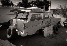 1955 Ford Ranch Wagon print