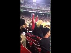 "Watch This Crazy Lady At Red Sox Game Dance To ""Gettin Jiggy With It"""