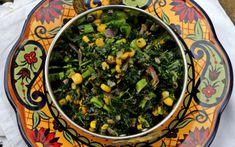 Kale and Roasted Corn Stir Fry | One Green Planet #MeatlessMonday
