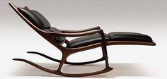 houses, rockers, seat, rocking chairs, sam maloof, mid centuri, rock chair, furnitur, design