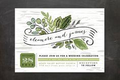 Invitation Typography