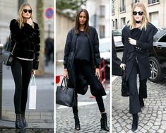 10 All-Black Outfits