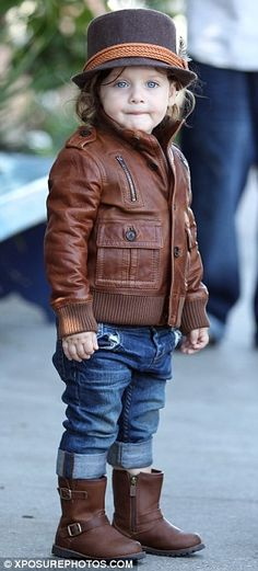 kid style, son skyler, rachel zoe, motorcycle jackets, goo gaa, bud beauti