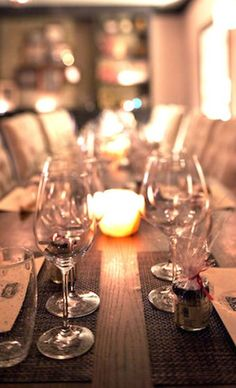 Private Dinner Party at Restaurant 1833