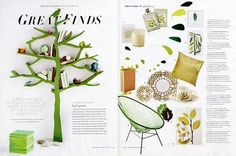 great to see one of our artists in march's MS Living!!  (studiopatro tea towels)