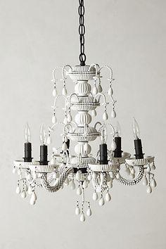 interior, chandeliers, achromat style, home lighting, dream decor, anthropologie, black white, achromat chandeli, anthro idea