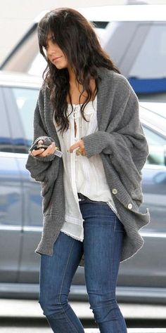 Comfy cozy sweater love.