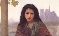The Bohemian By Bouguereau