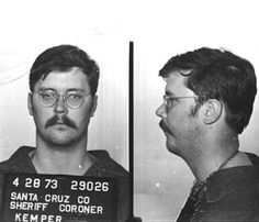 "Edmund ""Big Ed"" Kemper I(born December18,1948),also known as""The Co-ed Killer"",is an American serial killer and necrophile who was active in California in the early 1970s. He started his criminal life by murdering his grandparents when he was 15 years old. Kemper later killed and dismembered six female hitchhikers in the Santa Cruz area. He then murdered his mother and one of her friends before turning himself in to the authorities.Kemper is noted for his imposing physicality, standing(2.06m)"