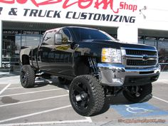 Duramax with Fox shocks