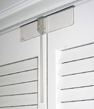 Bi-Fold Door Lock. Helps keep people with dementia out of closets that may be unsafe. Pinned by ottoolkit.com your source for geriatric occupational therapy resources.