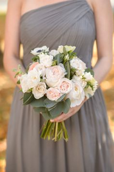 Bridesmaid bouquet: http://www.stylemepretty.com/little-black-book-blog/2014/05/19/bohemian-wedding-at-the-crane-estate/   Photography: Ned Jackson - http://www.nedjackson.com/