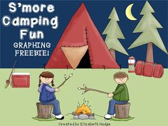 Mrs. Hodge and Her Kindergarten Kids: Happy May and a Freebie!! camping unit, camp unit, camping kindergarten, kid