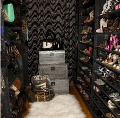fab closet! I'd climb in and never leave!