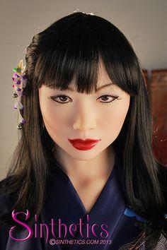 Yuriko by Sinthetics - lifesize silicone doll