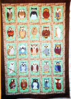 Love all the different owls.